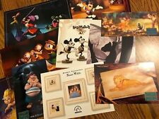Lot of 10 Promotional Postcards (9) Wdcc (1) Disney Treasures New Condition