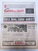 CORRIERE DELLO SPORT 25-9-1978 JUVENTUS