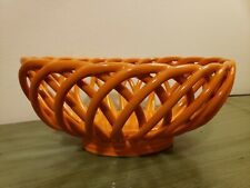 Vintage Eucalyptus stoneware Orange Bowl