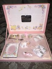 The Ashton-Drake Galleries Babys Precious Treasures Pink Wooden Box