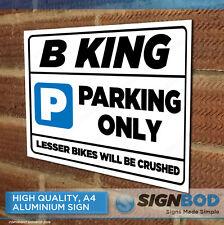 SUZUKI B KING Owner Parking Metal Sign Gift - Birthday Present