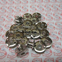 20 SINGER GENUINE Metal Bobbins 66, 99, 99k, 185, 201, 201-2, 240, 241, 242,