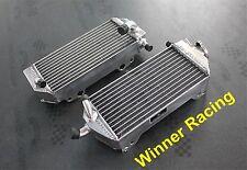 Fit for Suzuki RM125 RM 125 2-stroke 2001-2008 Braced aluminum radiator L + R