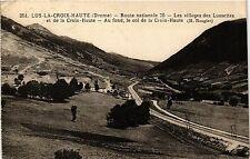 CPA  Lus-la-Croix Haute (Drome) -Route nationale 75 -Les villages des...(350271)