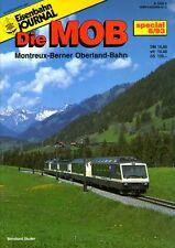 Eisenbahn Journal Heft Die MOB Montreux-Berner Oberland Bahn Special Ausgabe (C8