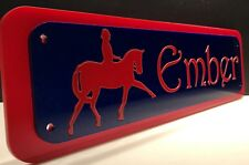 Horse Stable Accessories Pony Field Shelter Name Plates Equine Parts And Plaques