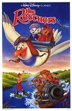 RESCUERS • 1-Sheet Movie Poster • DISNEY • 1989