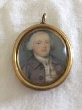 Appealing Miniature Portrait Of A Young British Gentleman, Modest School, c.1750