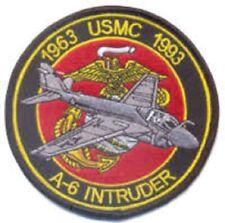 USMC A-6 Intruder Commemorative Patch & Sticker