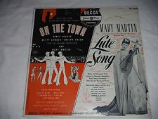 Selections from On the Town and Lute Song; Mary Martin  1950 Decca records