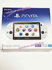 [Brand New] PS Vita Wi-Fi Console [Glacier+White] [PCH-2000 ZA22] [Japan] PSV