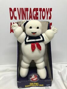 Stay-Puft Marshmallow Man Plush Vintage Kenner Toys Real Ghostbusters 1986 NRFB