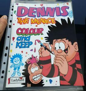 Dennis The Menace Colour & Keep Book
