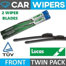 "LUCAS Retro-Fit Hook Type 16"" & 16"" Flat Windscreen Wiper Blades"