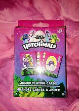 New Hatchimals Jumbo Playing Cards