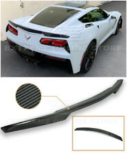 Z51 Factory Style CARBON FIBER Rear Trunk Lid Wing Spoiler For 14-19 Corvette C7