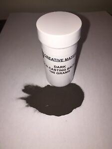 PDW Dark Bronze Metal Filler Powder 100 Grams (Model not included )