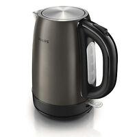 Philips Titanium Metal Cordless Electric Tea Kettle HD9322/80 Stainless Steel