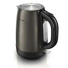 Philips Titanium Metal Cordless Electric Tea Kettle HD9322/80 Stainless Steel