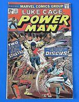 LUKE CAGE Power Man #22 BRONZE AGE COMIC BOOK 1974 1st App Discus ~ FN