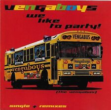 We Like to Party! [Maxi Single] by Vengaboys CD Dec-1998 Groovilicious Music