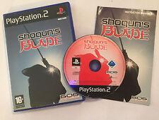 PLAYSTATION 2 PS2 GAME SHOGUN'S shoguns BLADE +BOX & INSTRUCTIONS COMPLETE PAL