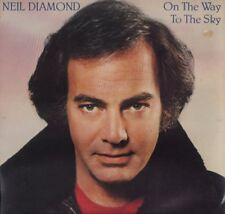 "NEIL DIAMOND "" ON THE WAY TO THE SKY "" LP NUOVO PRIMA EDIZIONE CBS 1981"