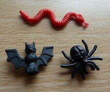 LEGO MINIATURE MINIFIG ANIMAL SNAKE BAT SPIDER HARRY CASTLE PIRATES INDIANA -