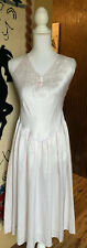 Maryann's Vintage Embroidered Beaded Nightgown Size P