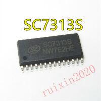 1PCS SL SC7313S SOP-28 DIGITALCONTROLLED STEREO AUDIO PROCESSOR IC   #R2020