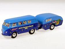 Schuco Piccolo Weihnachts-Edition 2000 VW Bus mit Camper # 50188200