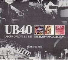 "COFFRET X 3 CD UB 40 ""LABOUR OF LOVE I II & III / THE PLATINUM COLLECTION"""