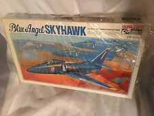 MINCRAFT    BLUE ANGEL  SKYHAWK  AIRPLANE NEW,  MINT, SEALED'', CLASSIC PLANE''