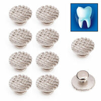 Dental Orthodontic Ortho Lingual Buttons For Bondable Round Mesh Base Medical
