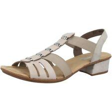 Rieker Ravenna-Eagle Schuhe Damen Absatz Sandalen Antistress Sandalette V6273-62