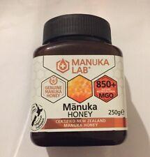 MANUKA LAB  NEW ZEALAND GENUINE Manuka Honey 850+ MGO 250g