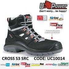 UPOWER SCARPE LAVORO ANTINFORTUNISTICA CROSS S3 SRC U-POWER UC10014 -