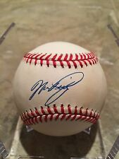 MIKE PIAZZA AUTOGRAPHED NATIONAL LGE BASEBALL PSA EARLY SIGNATURE METS DODGERS