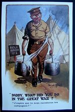 POSTCARD: DADDY WHAT DID YOU DO IN THE GREAT WAR?