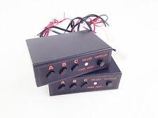 2PCS 3 MODE 6 Port LED EMERGENCY STROBE LIGHT / LIGHTBAR CONTROL BOX 12V 24W 2A