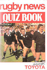 """Rugby News Quiz Book"" compiled by Bob Howitt 1984"