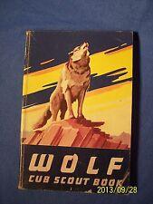 Vintage Wolf Cub Scouts Handbook 1957 BSA Boy Scouts of America Den Pack Badge