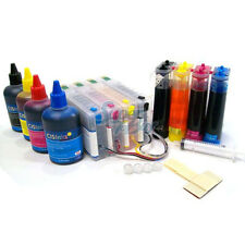 CISS & Ink Set Ink Supply System for Epson Workforce Pro WP4020 WP4530 CISS CIS