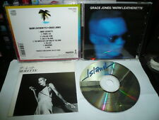 GRACE JONES WARM LEATHERETTE 1980 JAPAN CD 3200yen P32D 1ST PRESS
