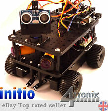 Ultimate 4tronix initio 4WD Robot Car Motor Driver IR Sensors WITHOUT Arduino