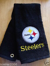 Personalized Embroidered Golf/Bowling Towel Pittsburgh Steelers NFL