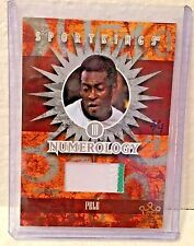 Pele 2015 Leaf SportKings SK Vault Numerology Silver 2 color GU Patch #'d 3/4