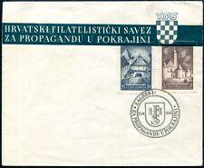 JUGOSLAWIEN 1941 439-440 auf OFFIZIELLEM FDC 500€++(S7660