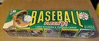 1991 Fleer Baseball Factory Set Sealed 732 Cards 50 Stickers MINT