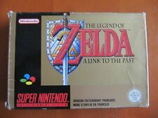 ZELDA A LINK TO THE PAST / JEU SUPER NINTENDO SNES COMPLET